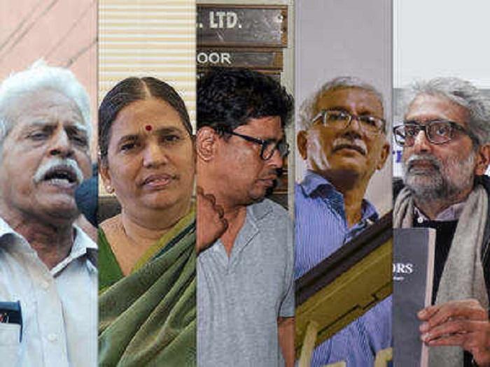 3 Left-wing activists sent to police custody till November 6