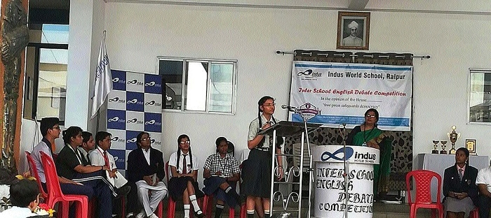 English Debate Competition held at IWS