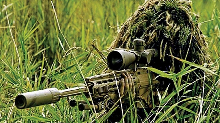 'Four highly-trained snipers active in J&K'