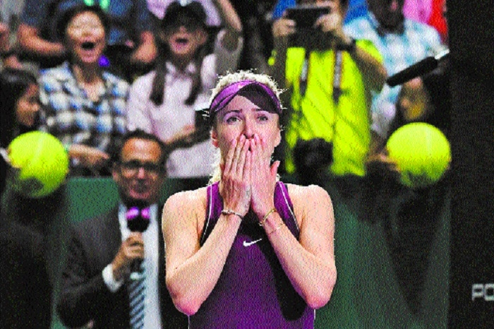 Svitolina wins WTA Finals