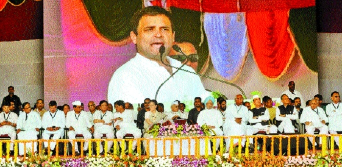 Modi helping only crony capitalists: Rahul