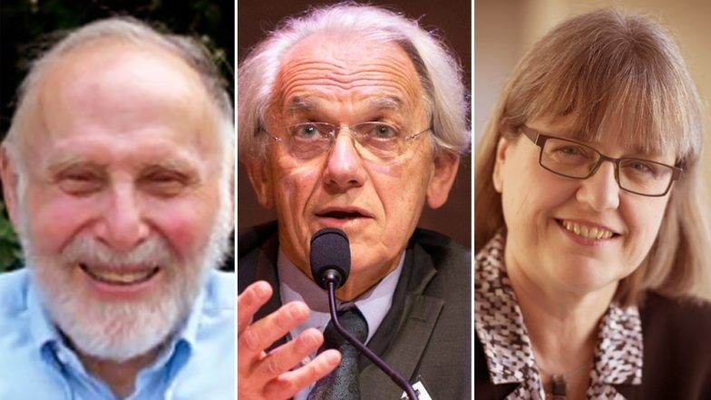 Trio shares Nobel Physics Prize for laser research