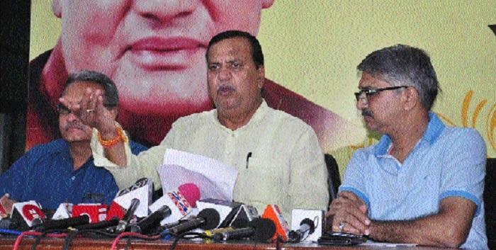 'BJP will demand cancellation of Congress accreditation'