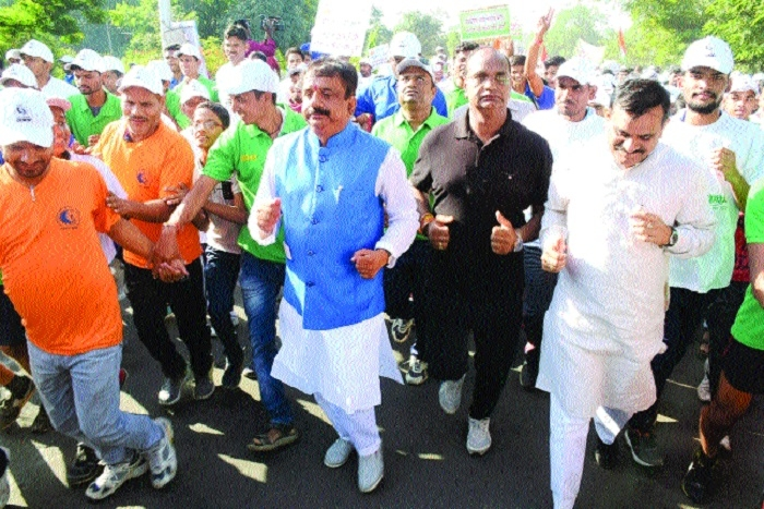 Over 8,000 run in 'Green Bhopal Clean Bhopal' marathon