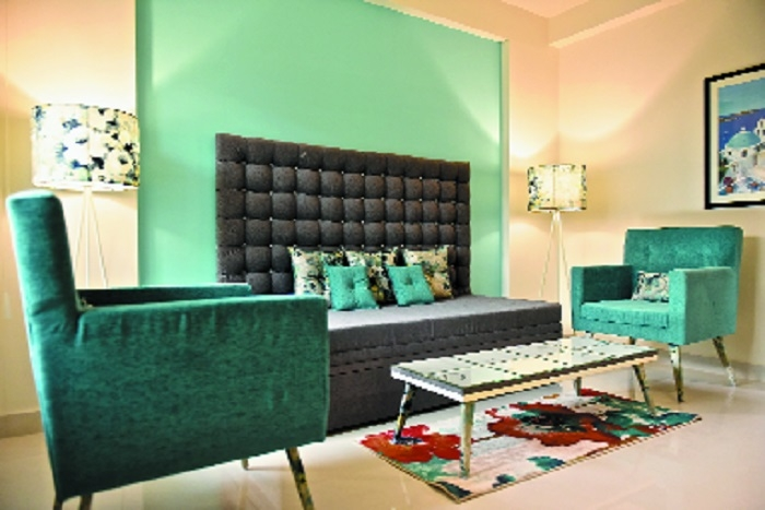 Fixed budget interior concept for flat and bungalow by Ferro Art