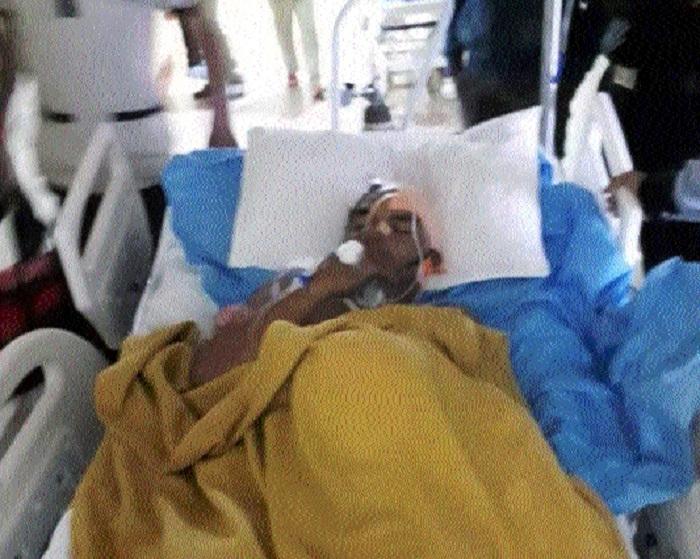 CM visits Nandlal Mudiyami at hospital