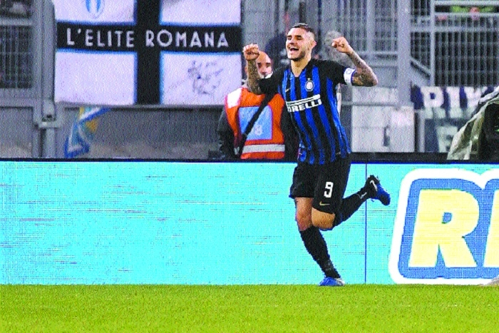 Icardi's double in Inter Milan's win