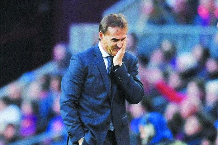 Real sack Lopetegui, Solari is interim coach