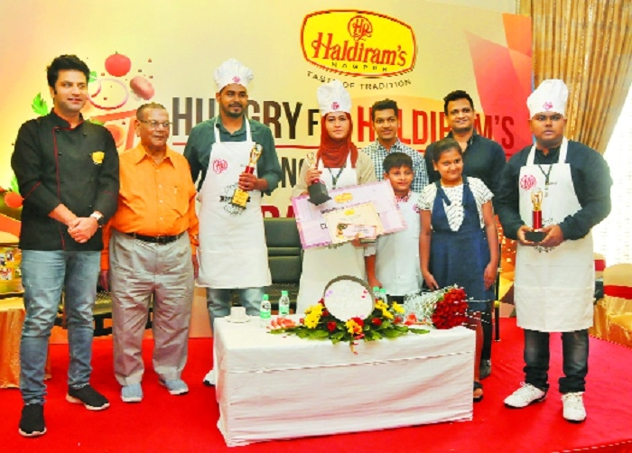 'Hungry for Haldiram's Cooking Contest-2018' held