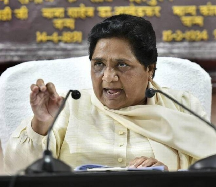 BSP will go it alone in Raj, MP polls: Maya