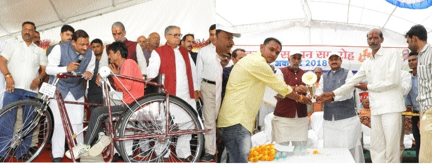 Artificial equipment worth Rs 1.27 cr given away to Divyangs