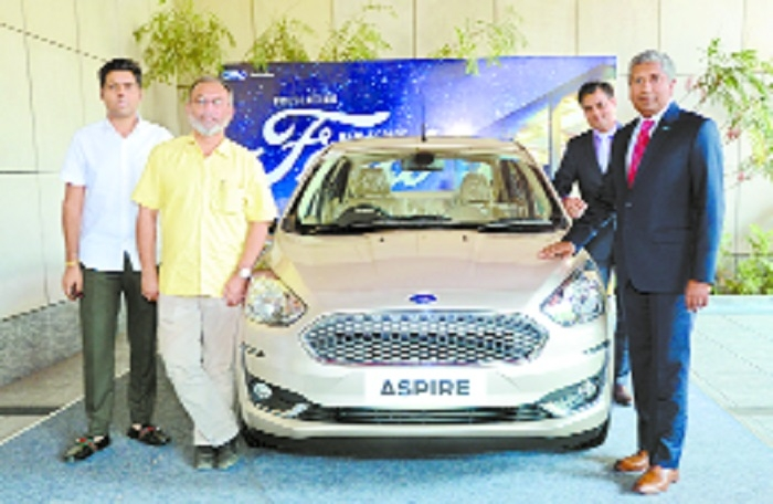 New Ford Aspire hits city roads