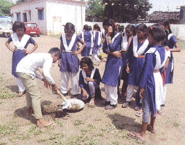 Cleanliness Fortnight ends at Hamara Bachpan Trust