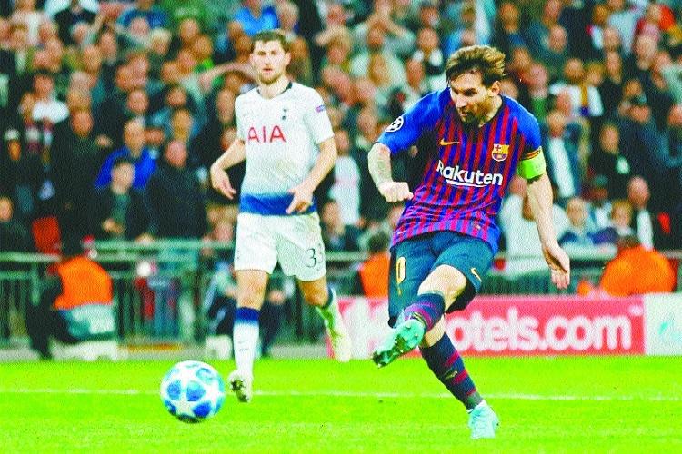 Barcelona outgun Spurs