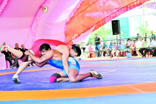 All India Rly Wrestling Competition witnesses enthusiastic performances on Day 2