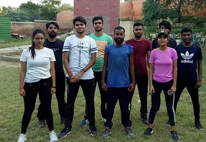 Rahul Gupta training 10 youths of State for Mount Everest expedition
