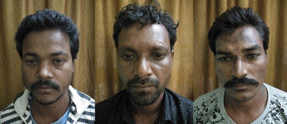 CCB arrest 3 in separate theft cases