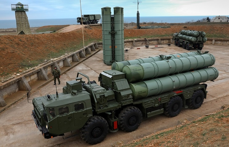 S-400 can launch 72 missiles simultaneously