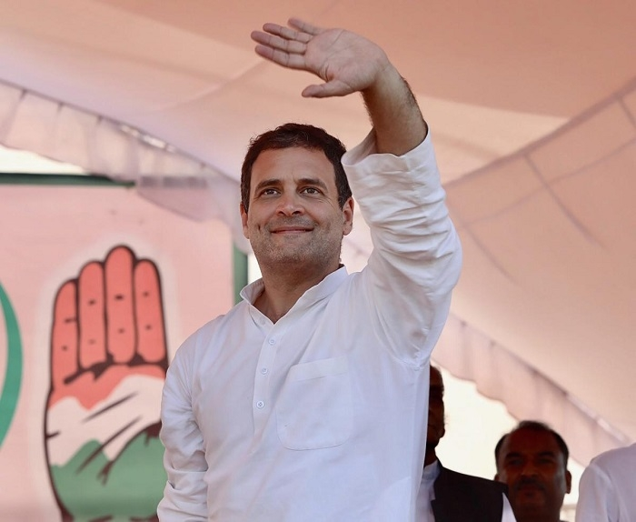 Rahul promises Tribal Bill in MP, Chhattisgarh, Raj if voted to power