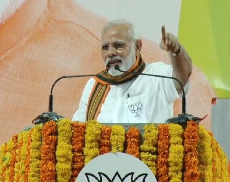 Cong practices vote bank politics, divides to rule: PM