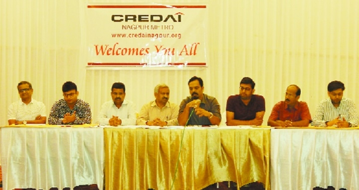 CREDAI Nagpur Metro's expo from 12th