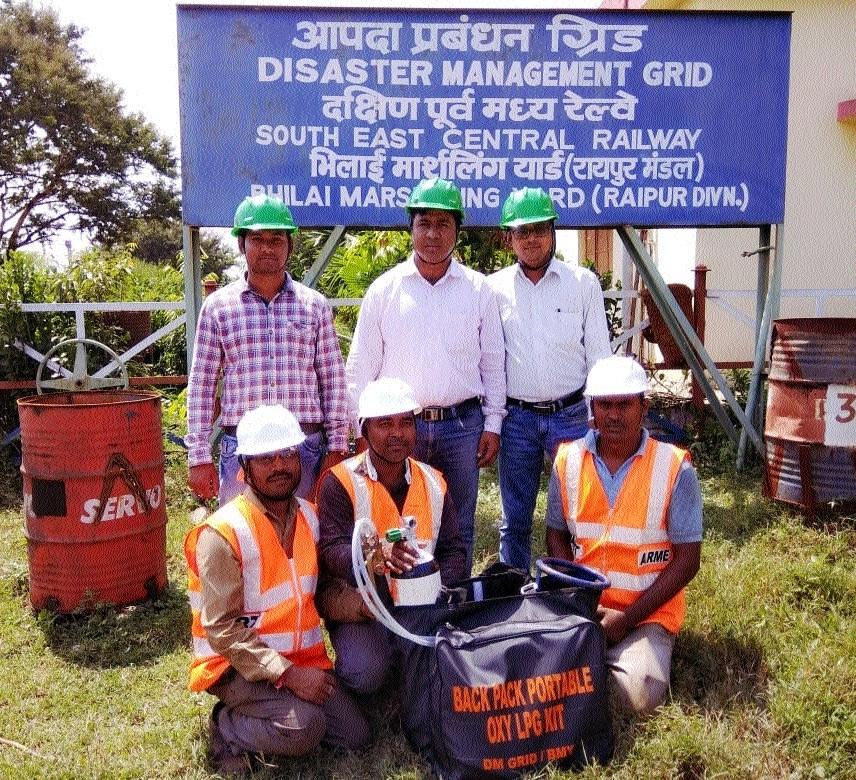 Raipur Rly Division prepares portable Oxy-LPG kit