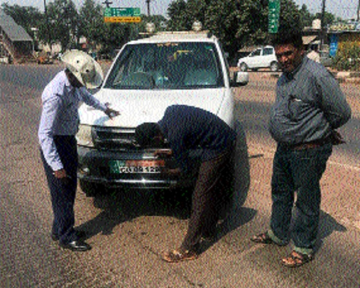 450 commuters challaned for flouting traffic rules in Bhilai