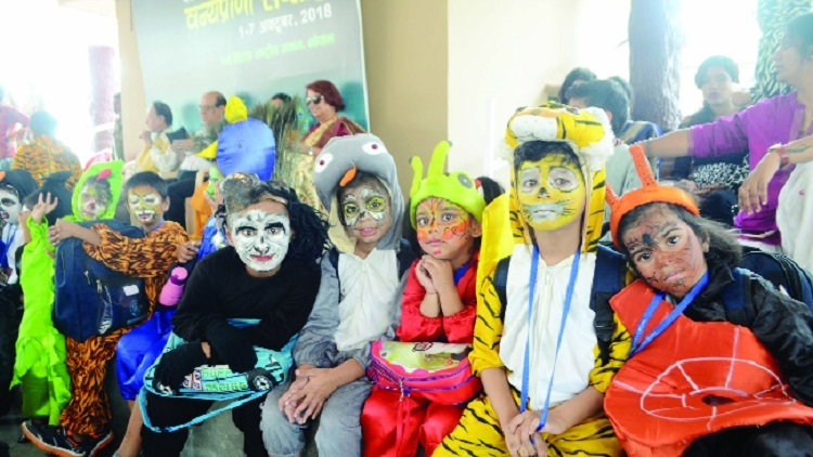 Wildlife Week celebrations conclude at Van Vihar National Park