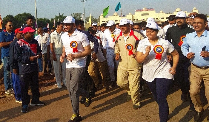 Thousands 'Run for Unity' organised in Raipur