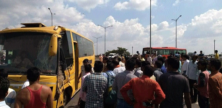 Three including two students of KV, killed in road accident