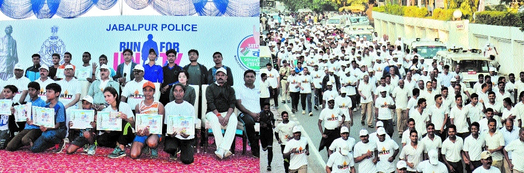 Cops and residents 'Run for Unity'