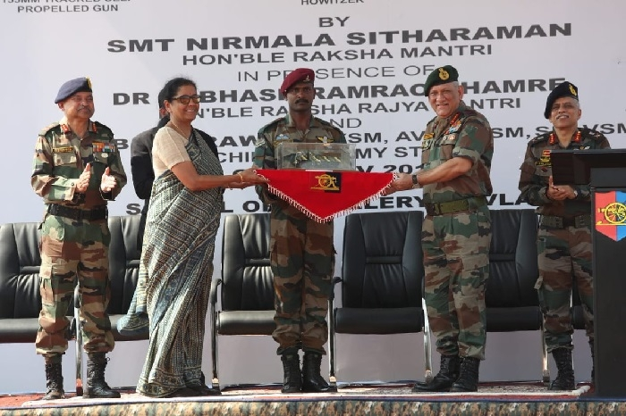 3 artillery gun systems inducted in Army
