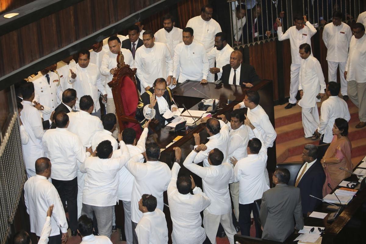 Sri Lankan Speaker comes under siege