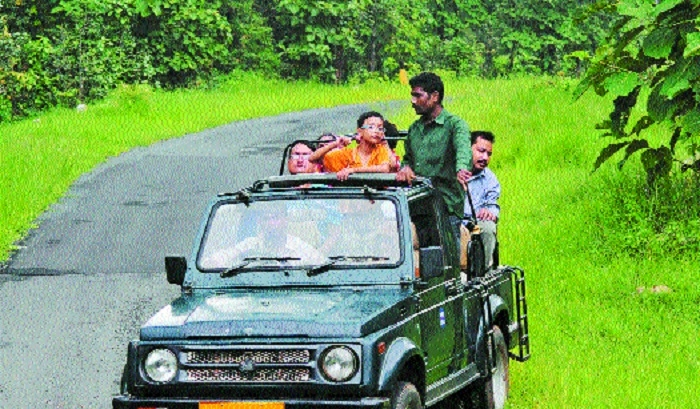 Ban on carrying mobile in Tadoba from Dec 1