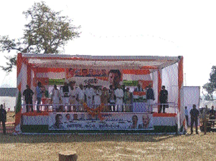Rahul Gandhi campaigns for party candidates