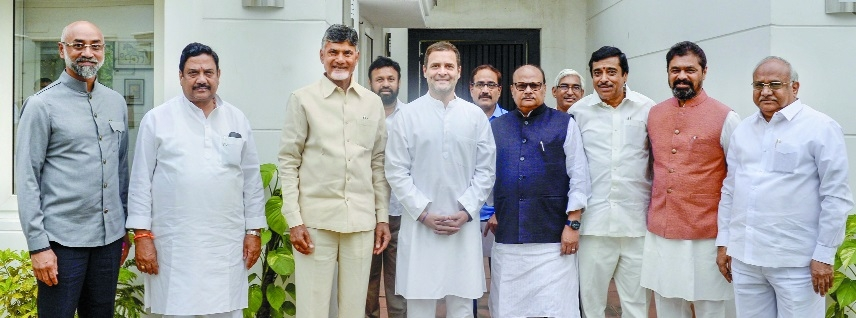 Naidu on unite-Opposition mission