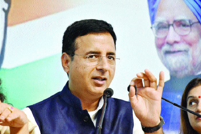 Congress brought chargesheet against State Govt: Surjewala