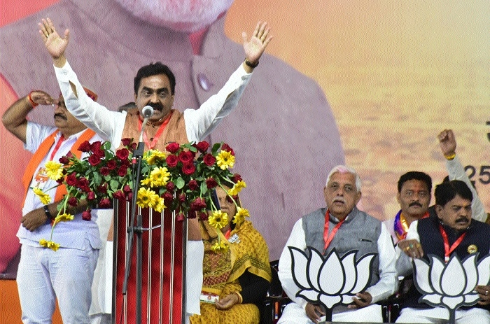 BJP handheld Mahakoshal in devpt journey: Rakesh Singh