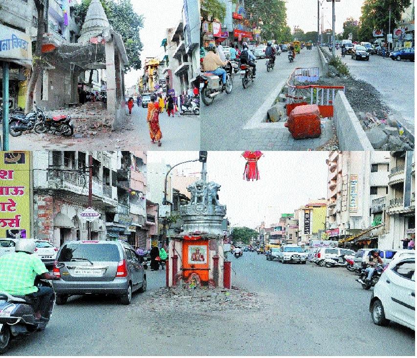 Civic body's drive to smoothen traffic flow hits stumbling blocks