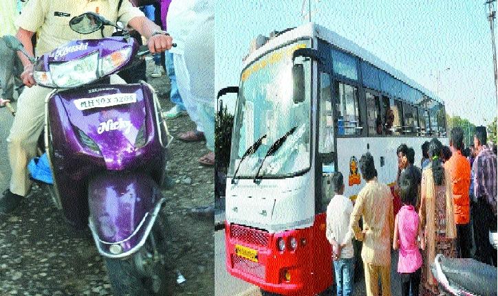 Speeding bus crushes 12-year-old girl dead
