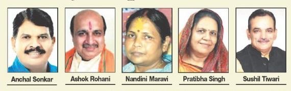 BJP retains 5 candidates in Jabalpur district