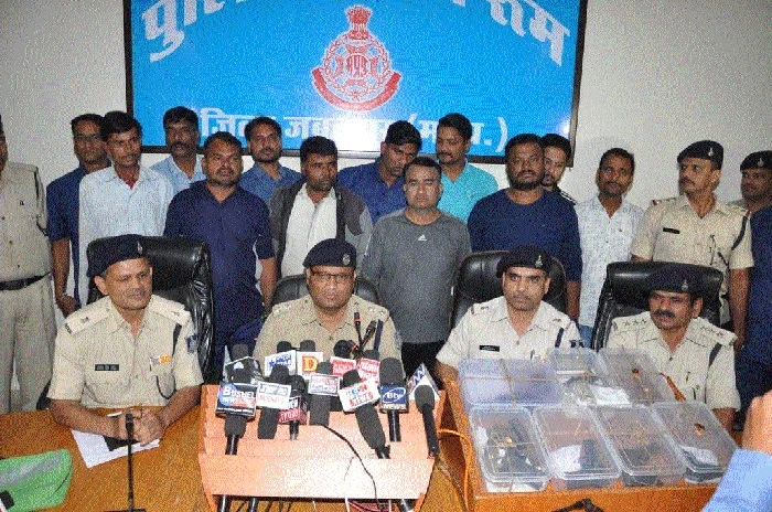7 accused arrested for illegal trade of firearms