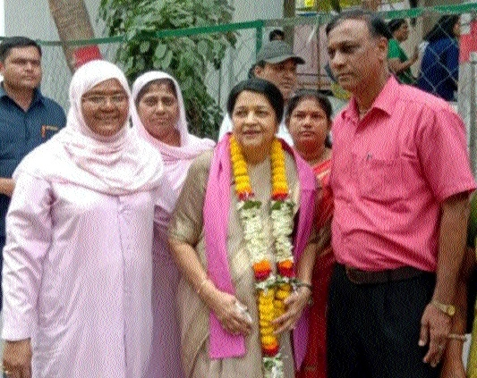 Dr Renu Jogi files nomination on JCC(J) ticket for Kota Assembly seat