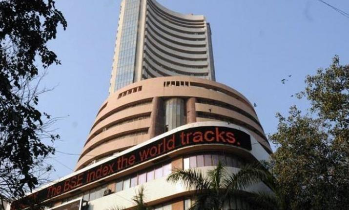 Sensex soars 580 points