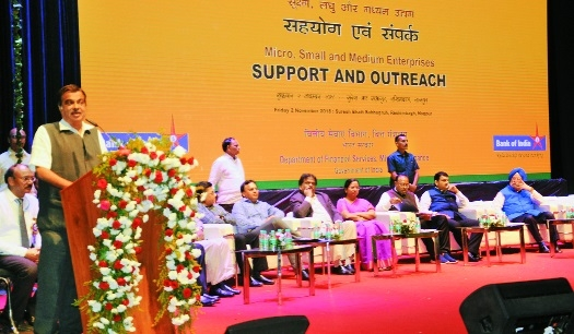 Support to MSMEs will create new jobs: Gadkari