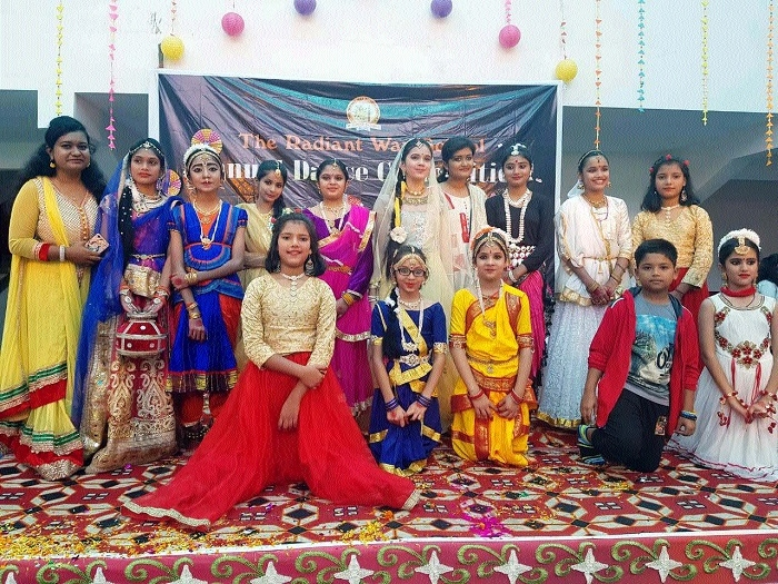 Dance Competition held at Radiant Way