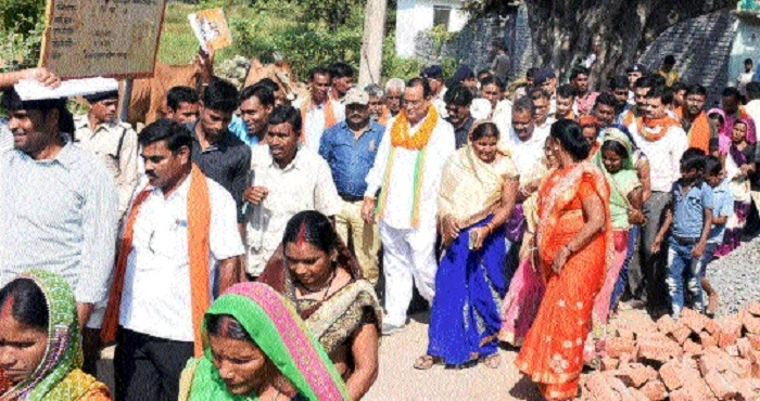 Election campaigns carried out in 10 villages