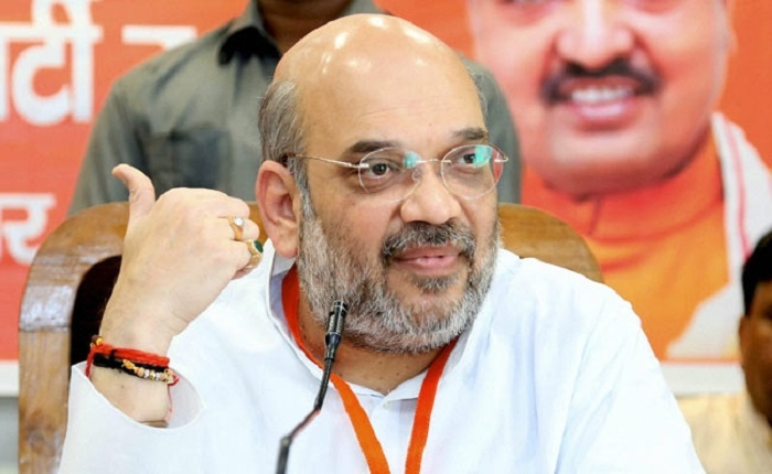 Amit Shah to address three mega public meetings today
