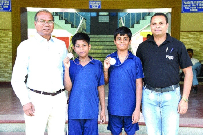 Mohd Maaz, Rushil Tripathi bag silver in State-level Roll ball Skating Competition