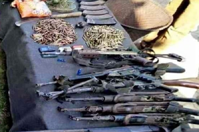 Chinese weapons recovered from 2 militants in Assam